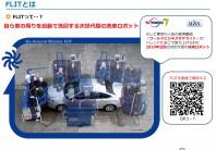 自動洗車ロボットFLIT